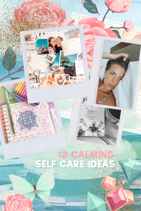 Ideas for a calming routine in the chaos of covid