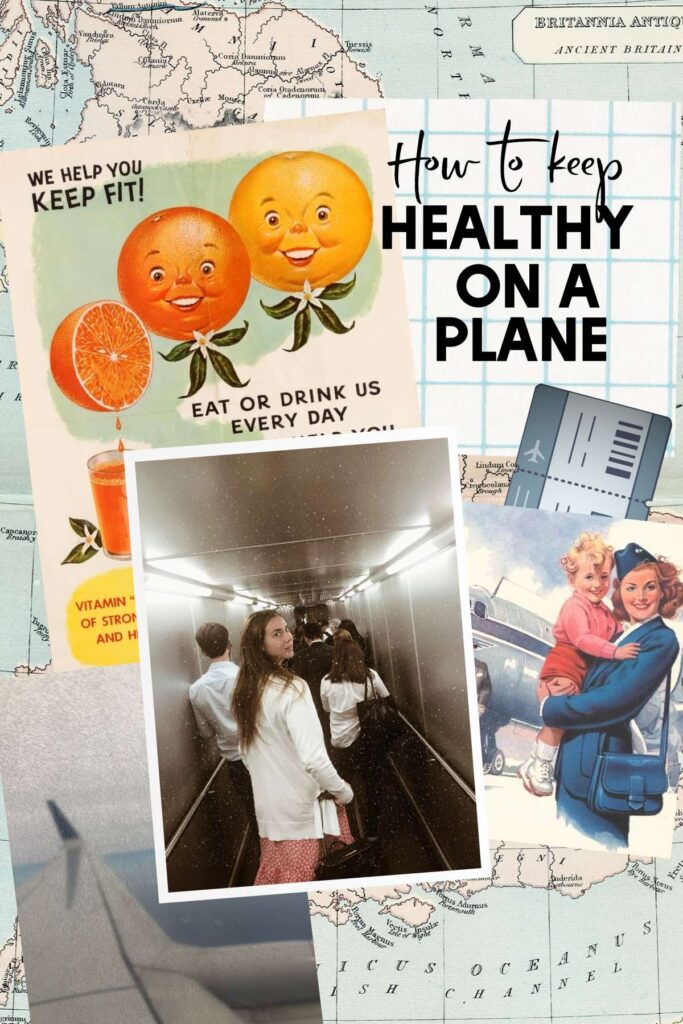 Tips to stay healthy on a plane