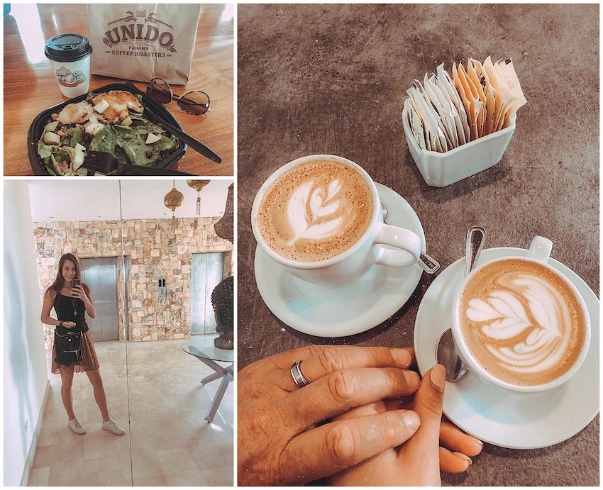 Coffee shop in Panama City