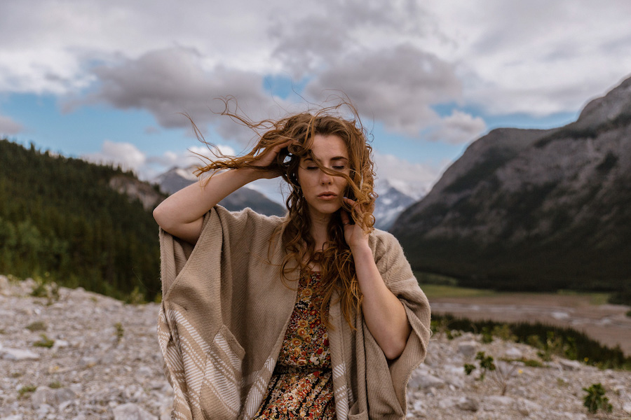Wild soul in the mountains
